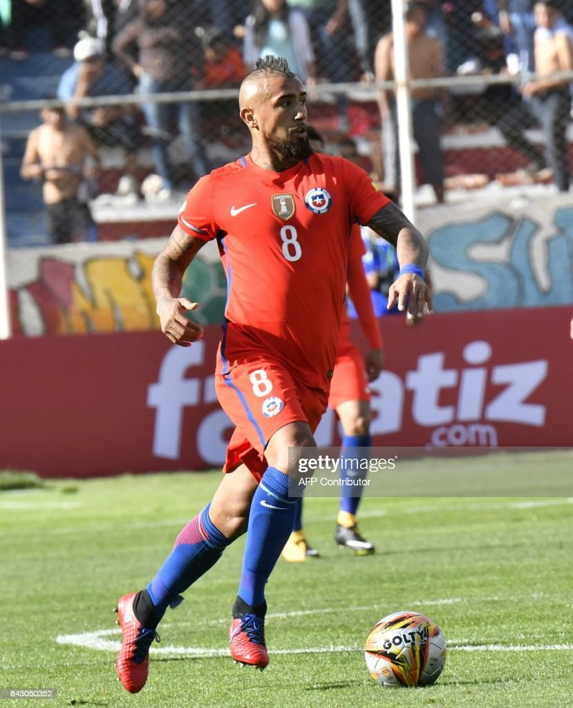 Best Chile World Cup 2018 - chiles-arturo-vidal-controls-the-ball-during-their-2018-world-cup-picture-id843050352  Perfect Image Reference_517745 .com/photos/chiles-arturo-vidal-controls-the-ball-during-their-2018-world-cup-picture-id843050352