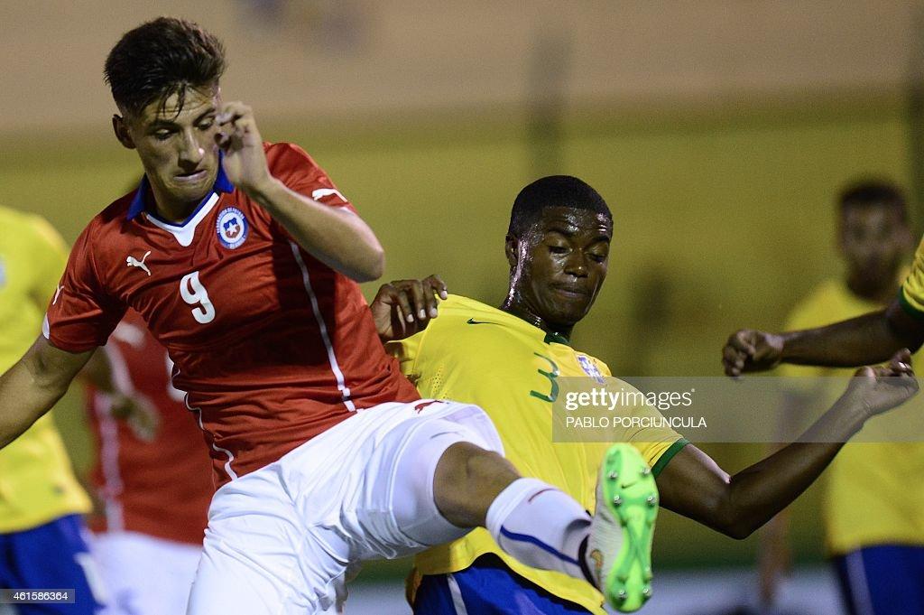 FBL-U20-SOUTHAM-BRA-CHI : News Photo