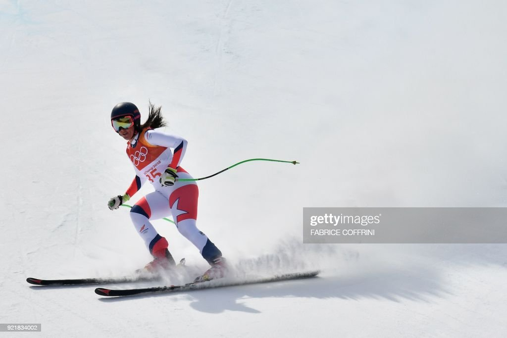 ALPINE-SKIING-OLY-2018-PYEONGCHANG : News Photo