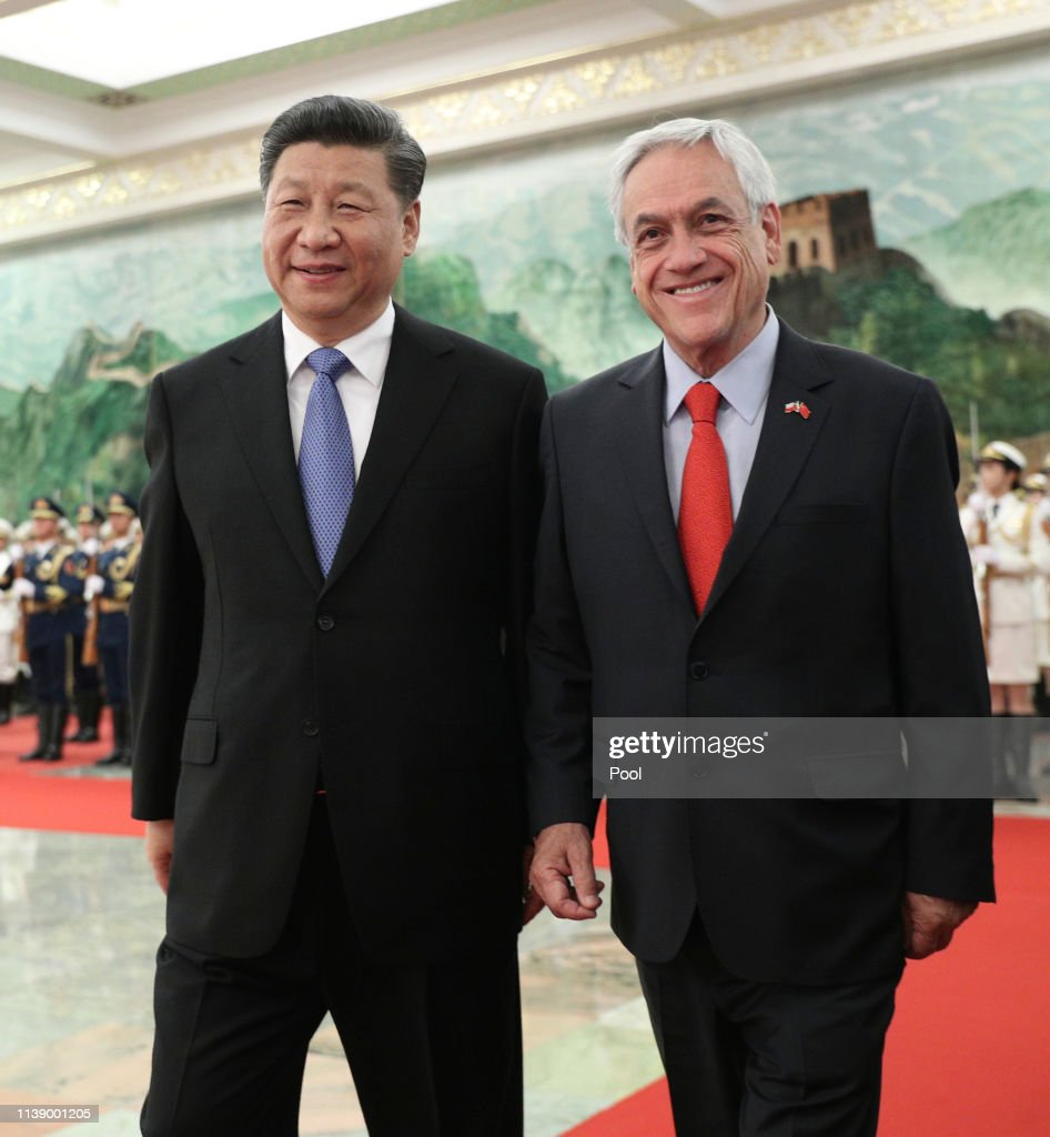 CHN: President of Chile Sebastian Pinera Visits China