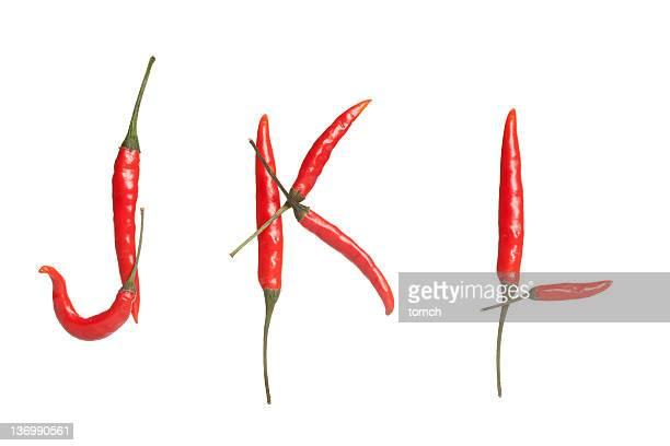 Chili Alfabeto