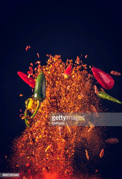 Chili Spice Mix Food Explosion