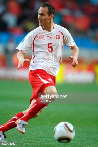 BERGEN Chili / Suisse Coupe du Monde 2010 Nelson Mandela Bay Stadium Port Elizabeth Afrique du Sud