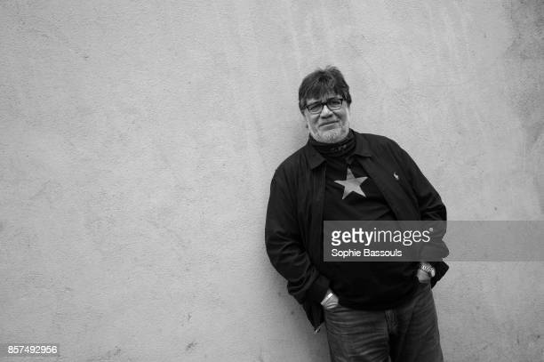 Chilian writer Luis Sepulveda poses during a portrait session held on June 03 2017 in Paris France