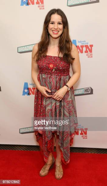 Chilina Kennedy attends a Special Broadway HD screening of Holland Taylor's 'Ann' at the the Elinor Bunin Munroe Film Center on June 14 2018 in New...