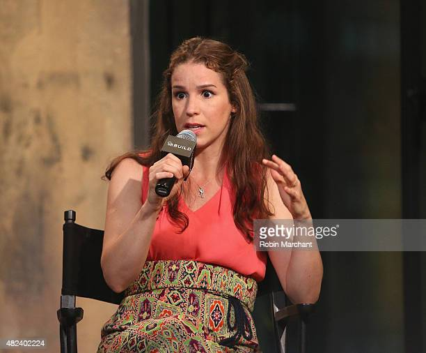Chilina Kennedy attends AOL BUILD Speaker Series Presents Broadway's Beautiful The Carole King Musical at AOL Studios In New York on July 30 2015 in...