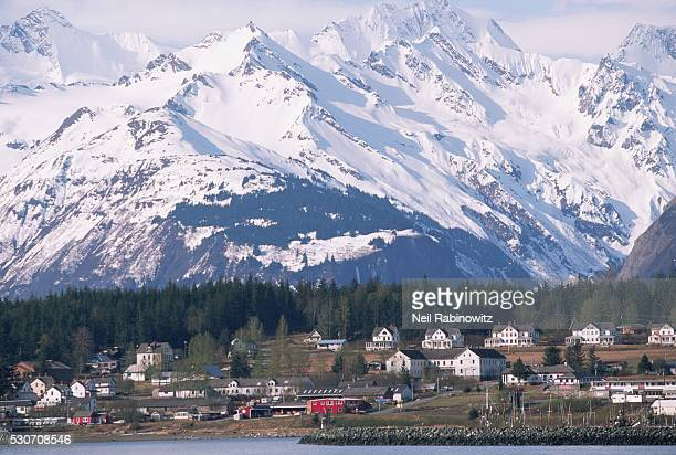 Chilkat Range and Haines in Early Summer