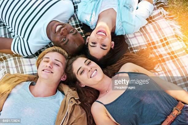 Chill-Tag mit coolen Leuten