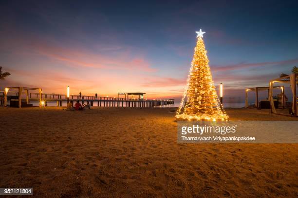 chill - beach christmas stock pictures, royalty-free photos & images