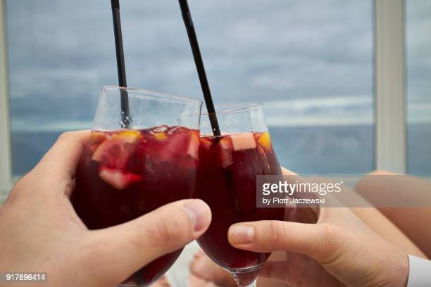 chill time - sangria stock pictures, royalty-free photos & images