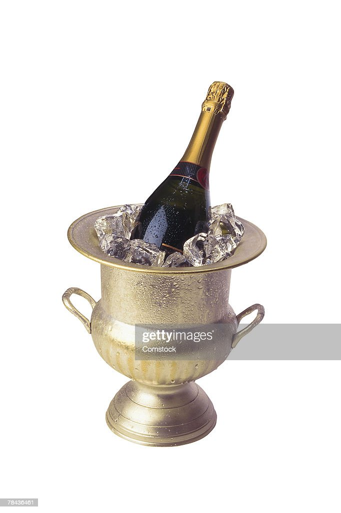 Chilled champagne : Stockfoto