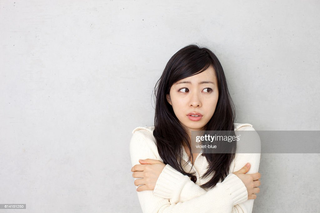 Chilled woman : Stock Photo