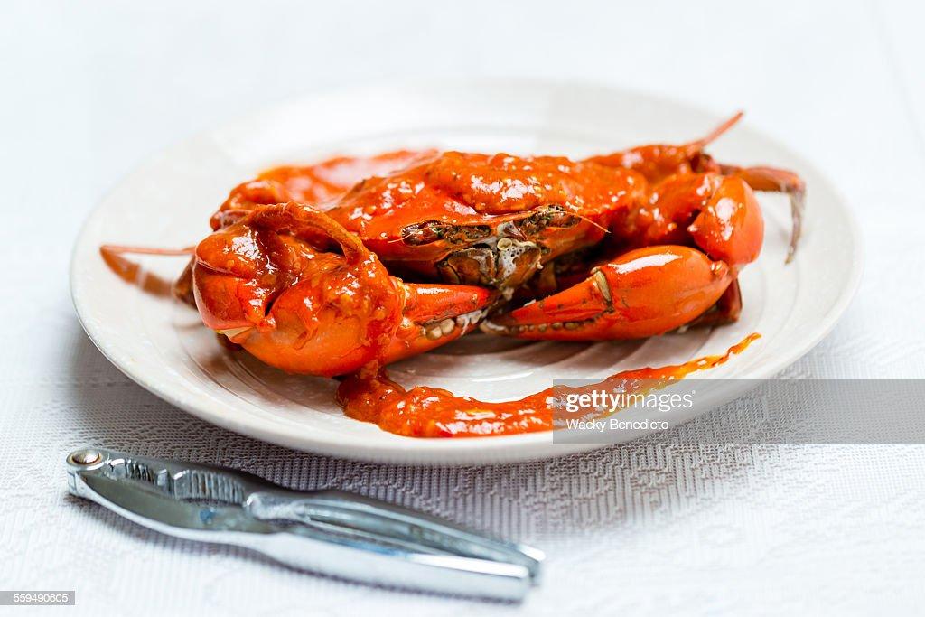 Chilli Crab : Stock Photo