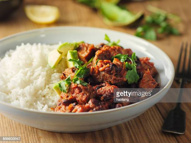 chilli con carne - chili stock photos and pictures