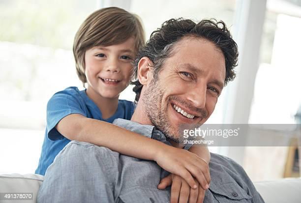 Chillen Sie sich wie zu Hause mit Papa