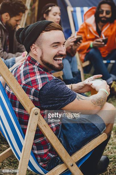 Chilling At The Festival