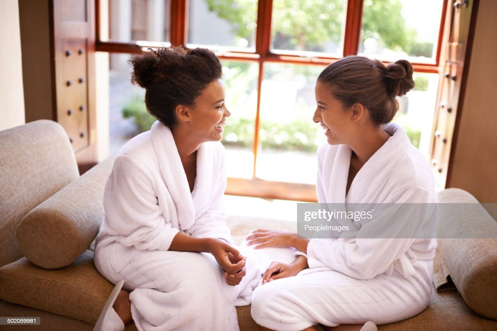 Chilling at the spa : Stock Photo