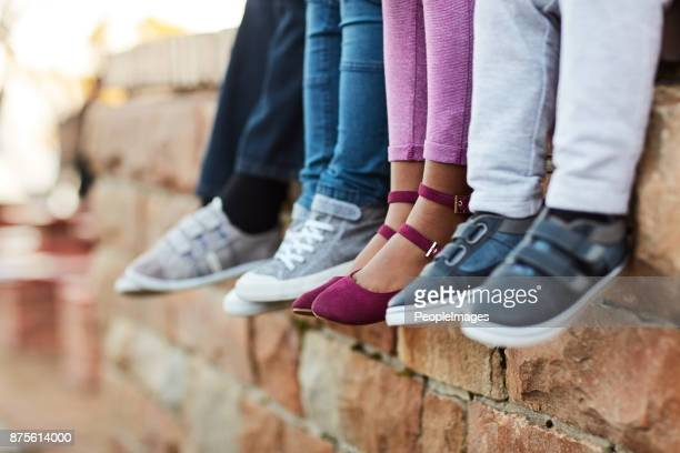 chilling before class starts - shoes stock pictures, royalty-free photos & images