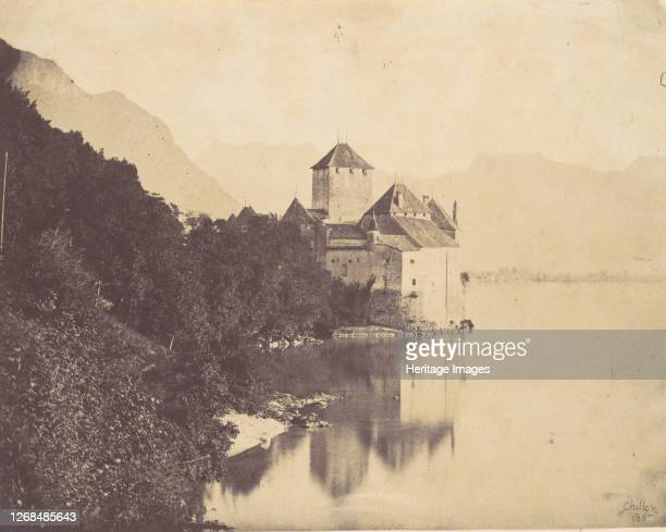 Chillon, 1855. Artist John Joscelyn Coghill.