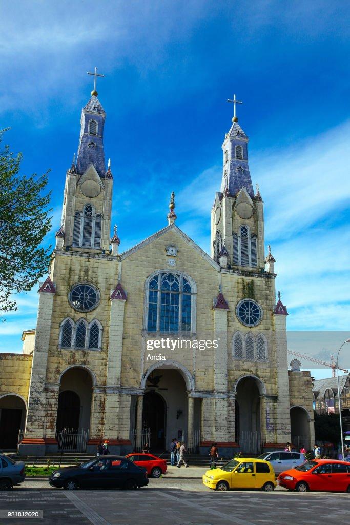 Castro, wooden Church of San Francisco, UNESCO World Heritage Site.