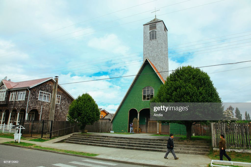 Chiloe Island, Curaco de Velez. : News Photo