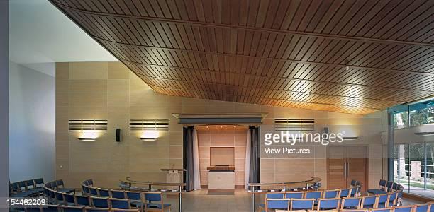 Chilterns Crematorium, Amersham, United Kingdom, Architect Haverstock Associates Llp, Chilterns Crematorium Interior