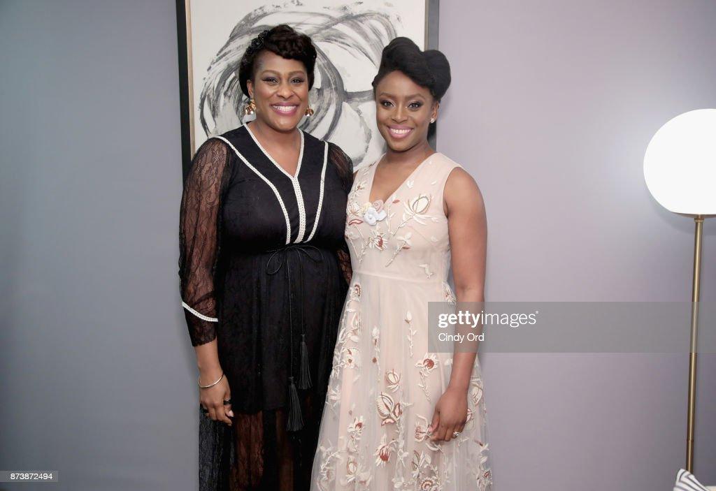Glamour Celebrates 2017 Women Of The Year Awards - Backstage : News Photo