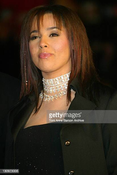 Chimene Badi during 2004 NRJ Music Awards Arrivals at Palais des Festivals in Cannes France