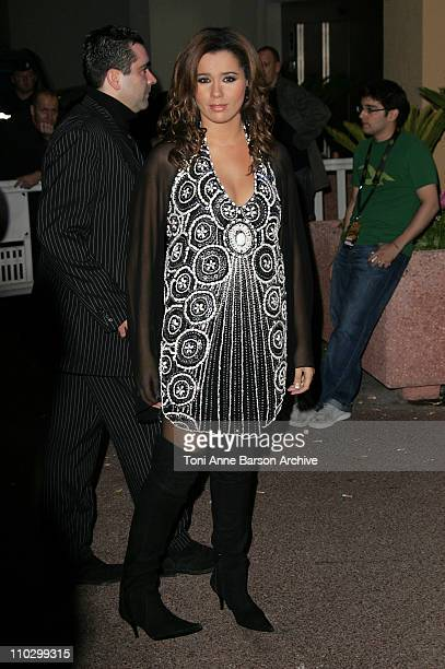 Chimene Badi during 2007 NRJ Music Awards After Show Departure in Cannes France
