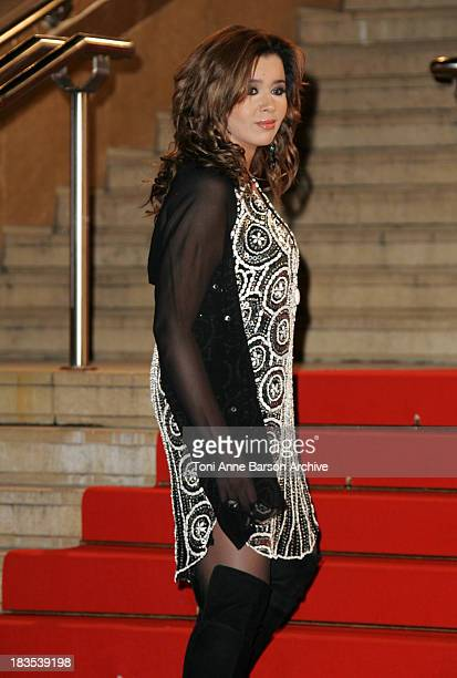 Chimene Badi during NRJ Music Awards 2007 Arrivals at Palais des Festivals in Cannes France
