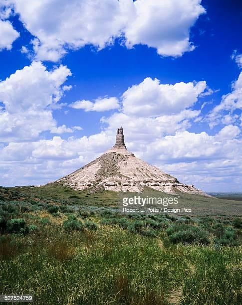 Chimney rock, a Nebraska landmark
