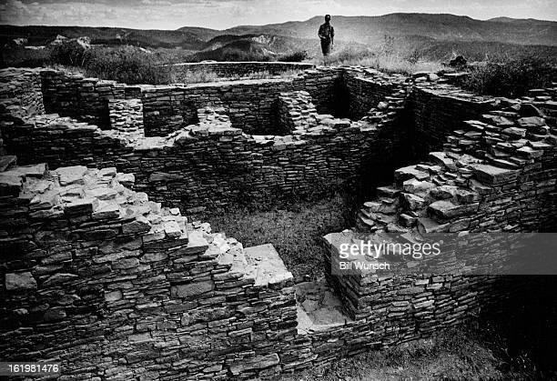 AUG 1 1973 Chimney Rock archeological site Colorado