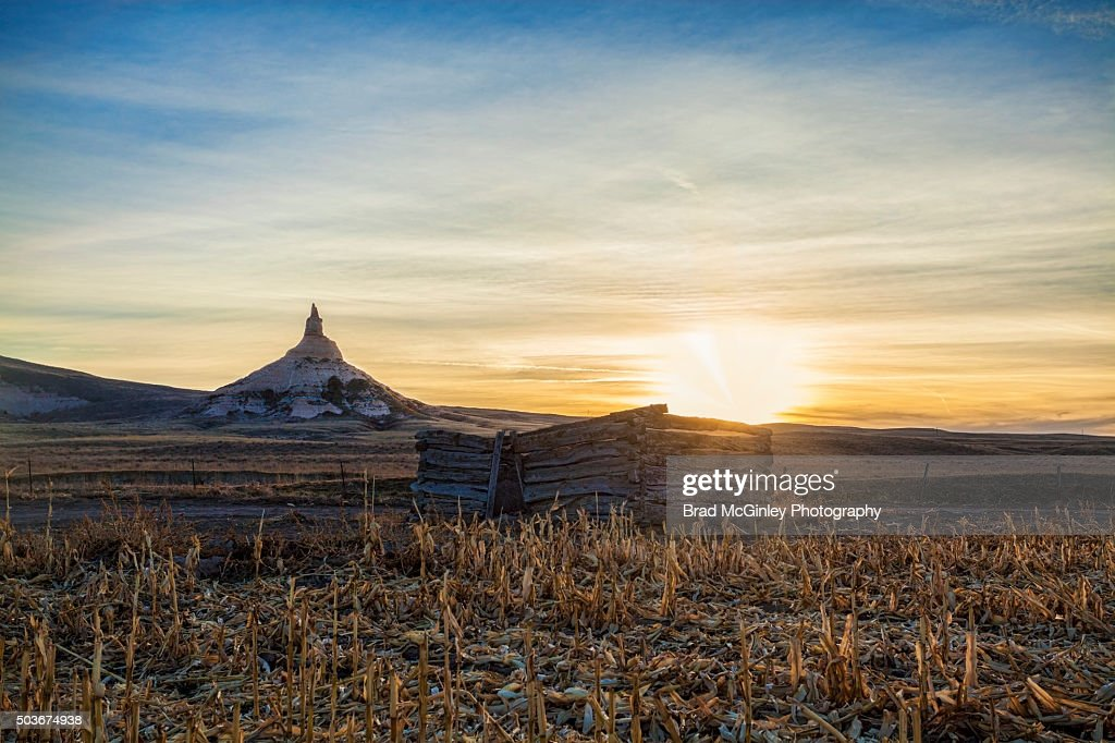 Chimney Rock : Stock Photo