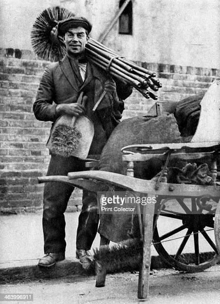 Chimney sweep London 19261927 From Wonderful London volume II edited by Arthur St John Adcock published by Amalgamated Press