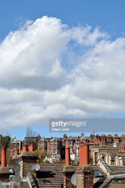 Chimneys and roof tops