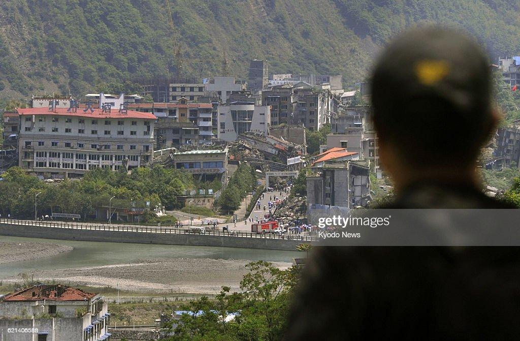 5 years after Sichuan quake : News Photo