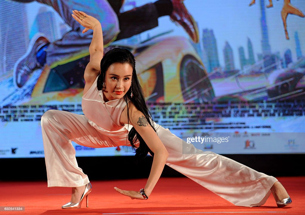 Actress Emi Takei attends the press conference for the