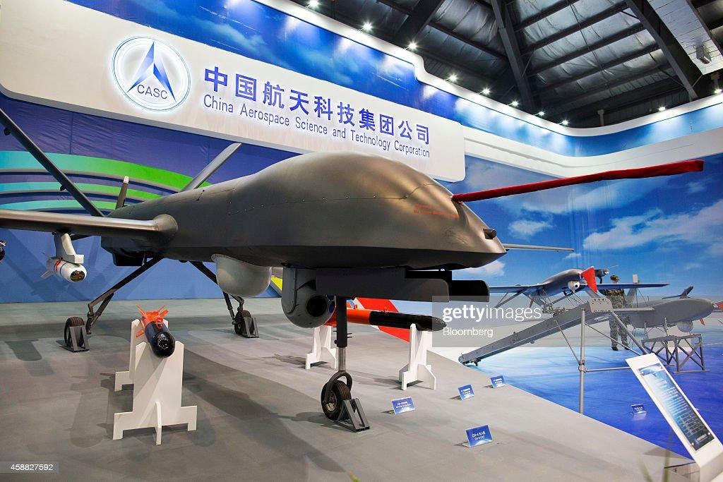 Inside The China International Aviation & Aerospace Exhibition : News Photo