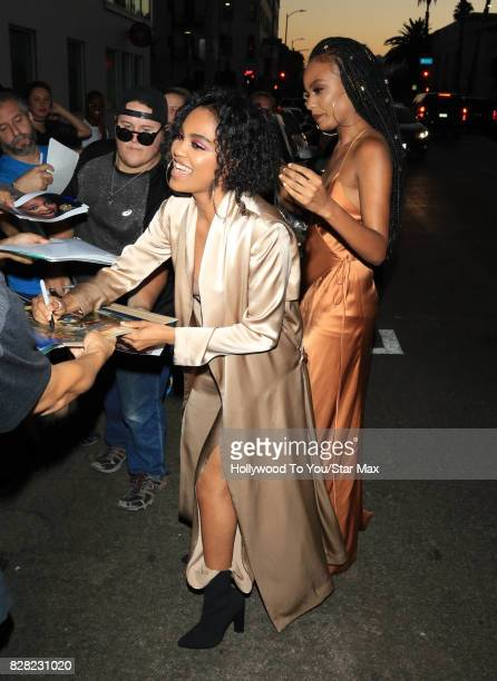 China Anne McCain and Sierra McClain are seen on August 8 2017 in Los Angeles CA