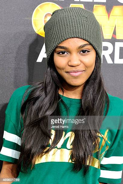 China Anne McClain arrives at the 4th Annual Cartoon Network Hall Of Game Awards at Barker Hangar on February 15, 2014 in Santa Monica, California.