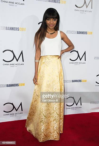 China Anne McClain attends her Sweet 16 Birthday Bash at CBS Studios Radford on September 4 2014 in Studio City California