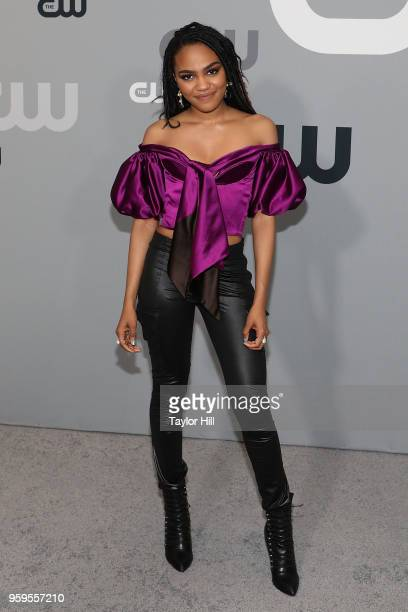 China Anne McClain attends the 2018 CW Network Upfront at The London Hotel on May 17 2018 in New York City