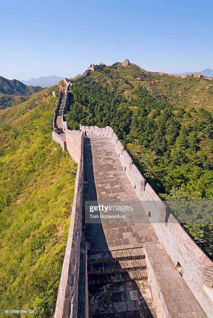 China, Beijing, Jinshaling, Great Wall of China : Stockfoto