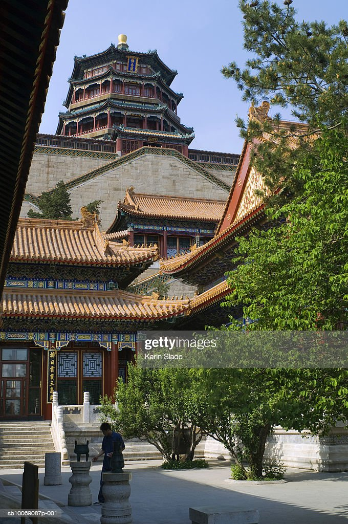 China, Beijing, Longevity Hill, Summer Palace : Stockfoto