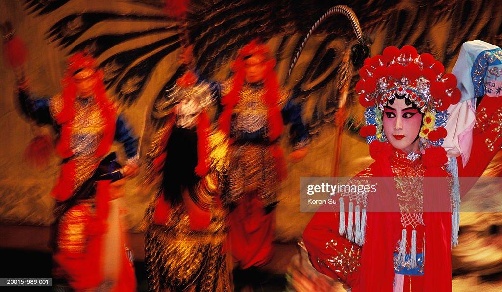 China, Beijing (Peking) Opera performance : Stock Photo