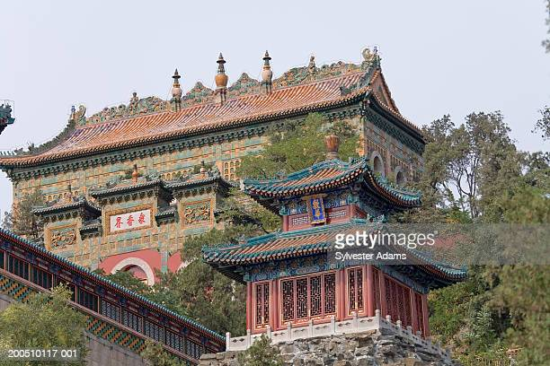 China, Beijing, Summer Palace, low angle view