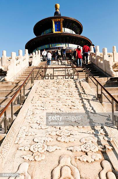 China Beijing Temple of Heaven Hall of Prayer for Good Harvests