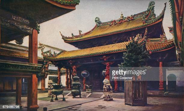 China. Chief among the attractions of Ningpo is the Tien-how-Kung, or Queen of Heaven temple, the meeting-house of the Fukien Guild. This is one of...