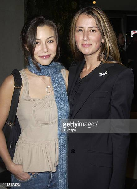 China Chow and Anna Getty during Van Cleef Arpels Party at Van Cleef Arpels Rodeo Store in Beverly Hills California United States