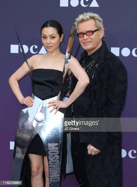 China Chow and Billy Idol attend the MOCA Benefit 2019 at The Geffen Contemporary at MOCA on May 18 2019 in Los Angeles California